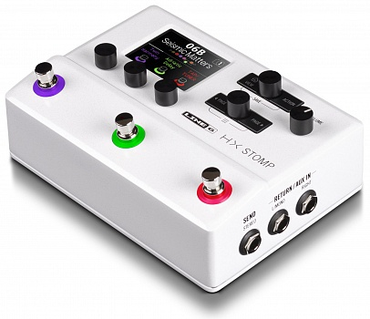 LINE 6 HX STOMP LIMITED EDITION STORMTROOPER WHITE – фото 4
