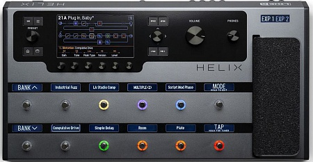 LINE 6 HELIX FLOOR FX LIMITED EDITION GRAY